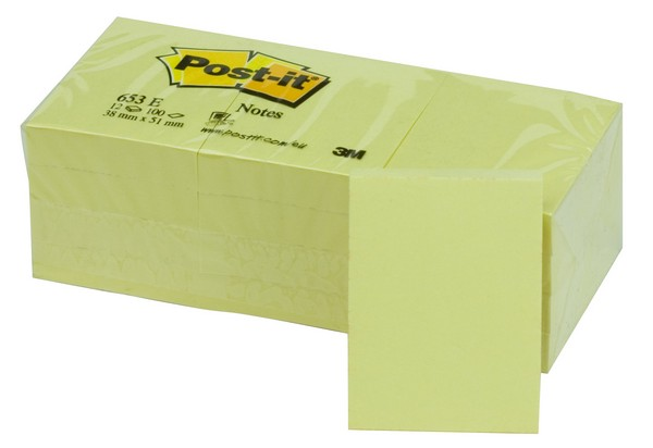 POS000001GI - Post-it 3M Canary -